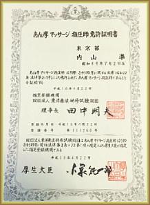 資格免許の写真