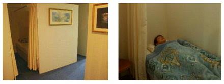 休息室の写真